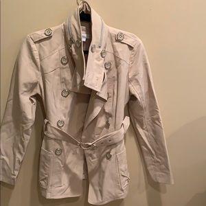 New York and Company Waist length raincoat trench